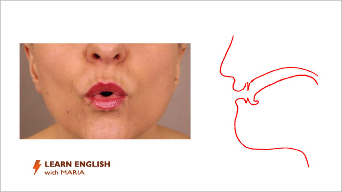 English pronunciation course - lips & tongue